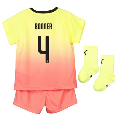 Manchester City Cup Third Baby Kit 2019-20 with Bonner 4 printing