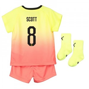 Manchester City Cup Third Baby Kit 2019-20 with Scott 8 printing
