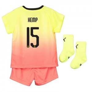 Manchester City Cup Third Baby Kit 2019-20 with Hemp 15 printing