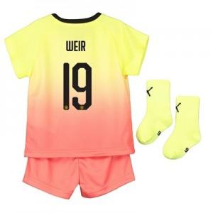Manchester City Cup Third Baby Kit 2019-20 with Weir 19 printing