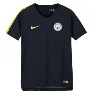 Manchester City Squad Training Top - Dark Blue - Kids