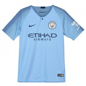 Manchester City Home Stadium Shirt 2018-19 - Kids