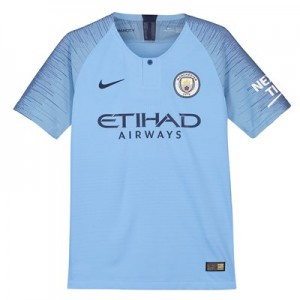 Manchester City Home Vapor Match Shirt 2018-19 - Kids