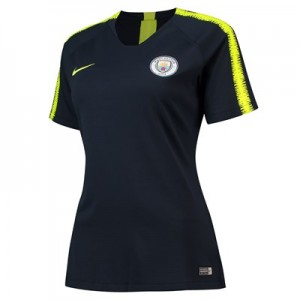Manchester City Squad Training Top - Dark Blue - Womens