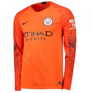 Manchester City Home Goalkeeper Stadium Shirt 2018-19 - Long Sleeve