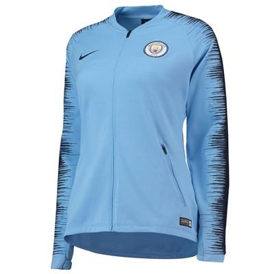Manchester City Anthem Jacket - Light Blue - Womens