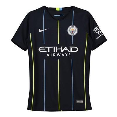 Manchester City Away Stadium Shirt 2018-19 - Kids