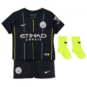 Manchester City Away Stadium Kit 2018-19 - Infants