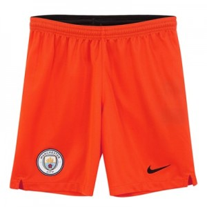 Manchester City Home Goalkeeper Stadium Shorts 2018-19 - Kids