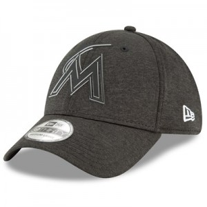 Miami Marlins New Era 2018 Clubhouse 39THIRTY Stretch Fit Cap