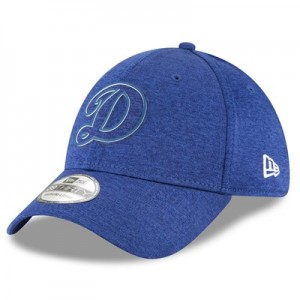 Los Angeles Dodgers New Era 2018 Clubhouse 39THIRTY Stretch Fit Cap