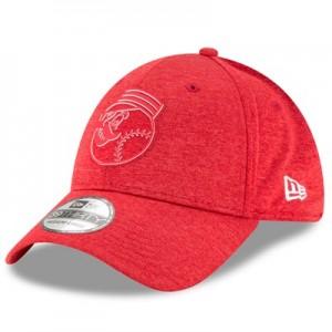 Cincinnati Reds New Era 2018 Clubhouse 39THIRTY Stretch Fit Cap