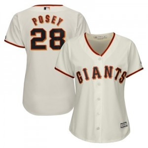 San Francisco Giants Buster Posey Majestic Home Cool Base Replica Player Jersey - Womens