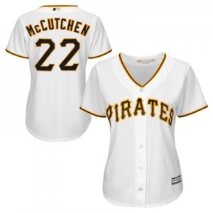 Pittsburgh Pirates Andrew McCutchen Majestic Home Cool Base Replica Player Jersey - Womens