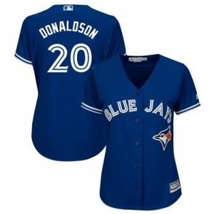 Toronto Blue Jays Josh Donaldson Majestic Alternate Cool Base Replica Player Jersey - Womens
