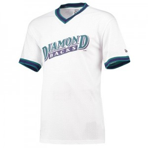 Arizona Diamondbacks New Era Coast To Coast Mesh T-Shirt - Mens