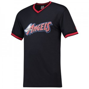 Los Angeles Angels of Anaheim New Era Coast To Coast Mesh T-Shirt - Mens
