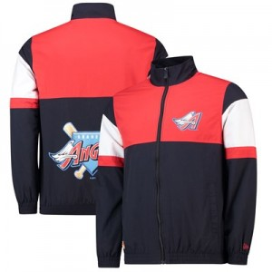 Los Angeles Angels of Anaheim New Era Coast To Coast Track Jacket - Mens