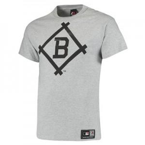 Brooklyn Dodgers Prism T-Shirt - Grey Marl - Mens