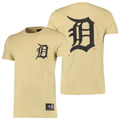 Detroit Tigers Detroit Tigers T-Shirt - Yellow - Mens