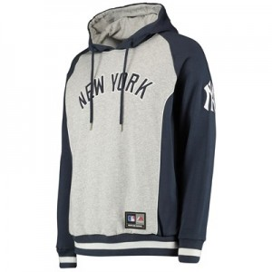 New York Yankees Handly Hoody - Silver Marl - Mens