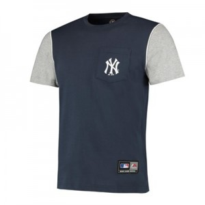 MLB Daley Pocket T-Shirt - Navy - Mens