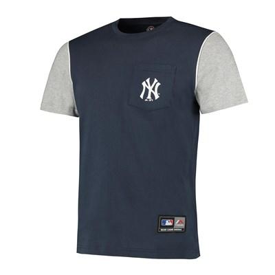 MLB Daley Pocket T-Shirt - Navy - Mens