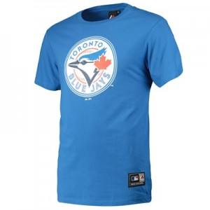 Toronto Blue Jays Prism Longline T-Shirt - Blue - Mens