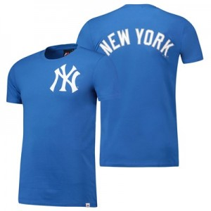 New York Yankees Gamily T-Shirt - Blue - Mens