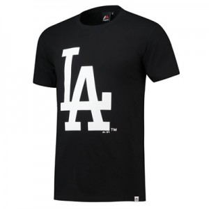 Los Angeles Dodgers T-Shirt - Black - Mens