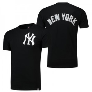New York Yankees Gamily T-Shirt - Black - Mens