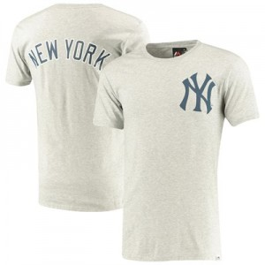 New York Yankees Gamily T-Shirt - Grey - Mens