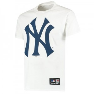 New York Yankees T-Shirt - White - Mens