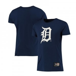 Detroit Tigers T-Shirt - Navy - Mens