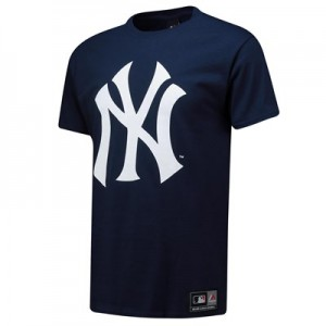 New York Yankees T-Shirt - Navy - Mens