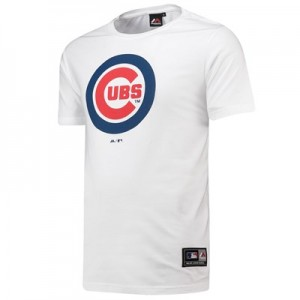 Chicago Cubs Prism T-Shirt - White - Mens