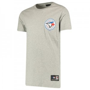 Toronto Blue Jays Rishop Longline T-Shirt - Grey - Mens