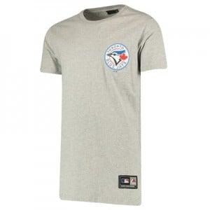 Toronto Blue Jays Rishop Longline T-Shirt - Grey - Mens