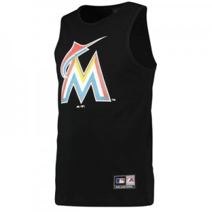 Miami Marlins Prism Vest - Black - Mens