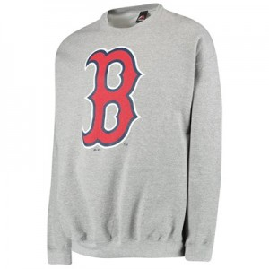Boston Red Sox Sweatshirt - Grey - Mens