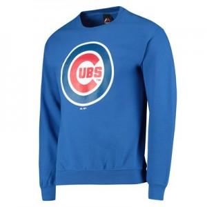 Chicago Cubs Sweatshirt - Blue - Mens