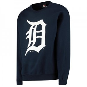 Detroit Tigers Sweatshirt - Navy - Mens