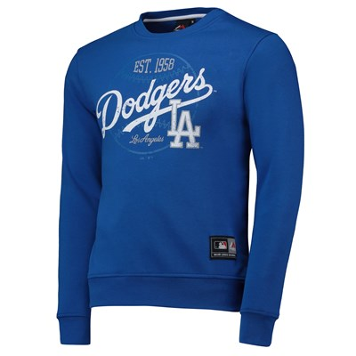 Los Angeles Dodgers Graphic Sweatshirt - Blue - Mens