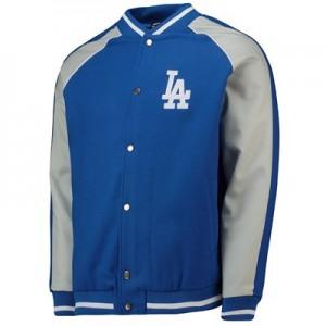 Los Angeles Dodgers Letterman Jacket - Aqua - Mens