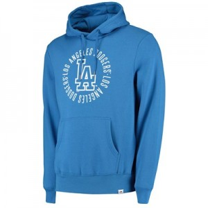Los Angeles Dodgers Fleece Graphic Hoody - Light Blue - Mens