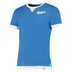 Los Angeles Dodgers Mock Layer T-Shirt - Blue - Mens
