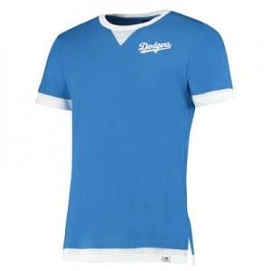 Los Angeles Dodgers Mock Layer T-Shirt - Blue - Mens