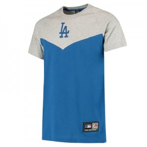 MLB Longline T-Shirt - Blue - Mens