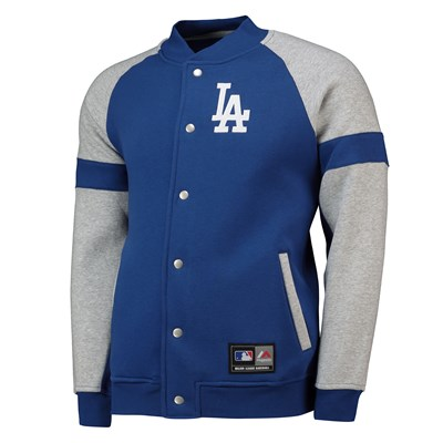 Los Angeles Dodgers Letterman Jacket - Blue - Mens