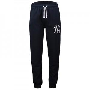 New York Yankees New York Yankees Cuffed Hem Joggers - Navy - Mens
